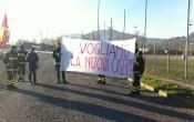 protesta pompieri - area Bione (2)