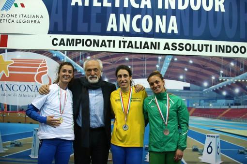 podio 400 femminile
