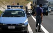 polizia stradale traffico