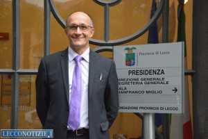 Il presidente della provincia, Flavio Polano