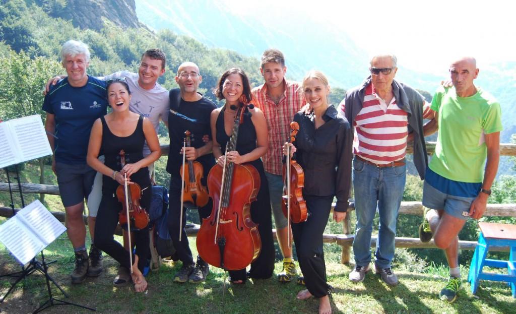 Quartetto d 39 archi al rifugio elisa il fascino della - Liceo carlo porta erba ...
