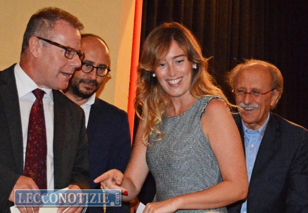Il ministro Boschi a Lecco a sostegno del sì al referendum