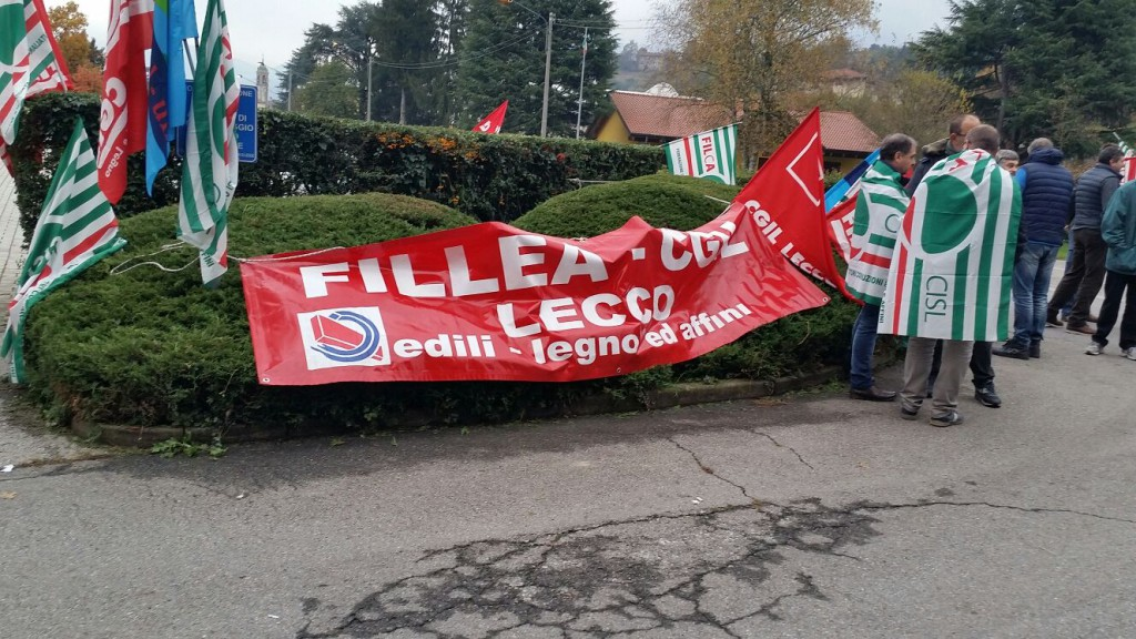 Domani sciopero dei 30mila lavoratori del legno