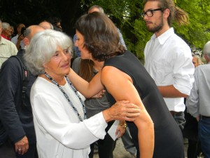 Funerali Walter Bonatti - moglie Rossana Podestà(10)