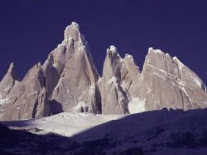 Cerro torre e torre Egger patagonia argentina