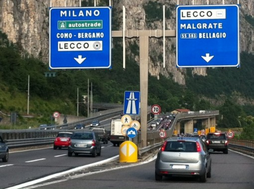 Statale 36 traffico