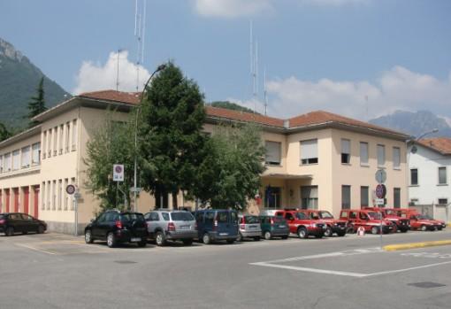 L'attuale sede del comando provinciale dei Vigili del Fuoco
