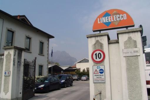 La sede di Linee Lecco