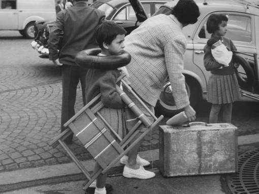 Gare Montparnasse, Parigi, agosto 1959