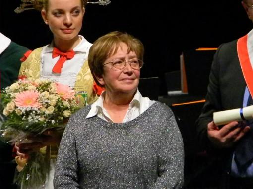 Benemerenze_2013_lecco (76) Raimonda Valsecchi sorella di Ambrogio Valsecchi a.m