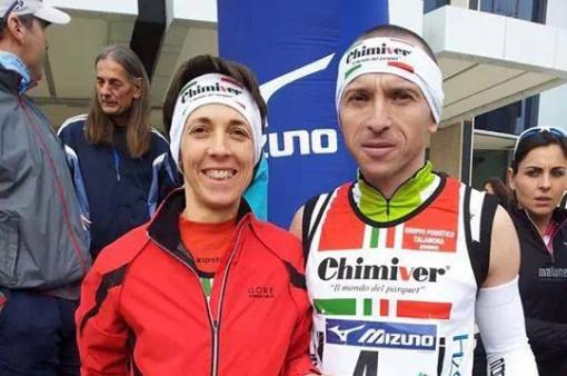 Cristina e Dario Fracassi Corsa sui grattacieli gennaio 2014 (2)