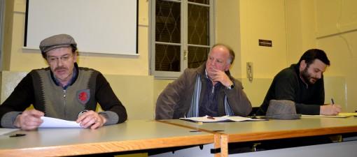 Gianni Trincavelli, Aldo Gallo e Flavio Angeli 5 stelle mandello