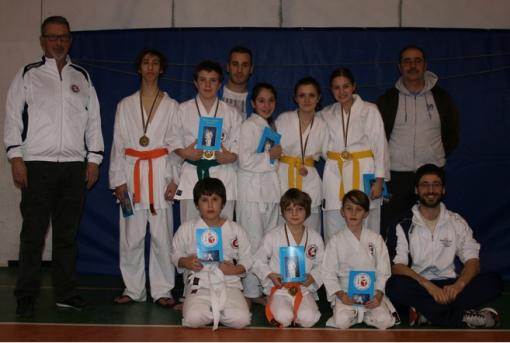 Sport karate Sankukai Belotti gennaio 2014