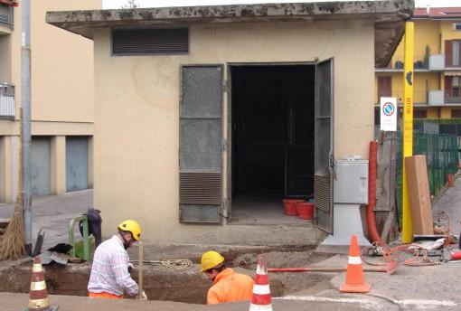 cabina enel - via giusti - lavori (2)