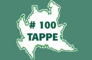 100 tappe in lombardia logo