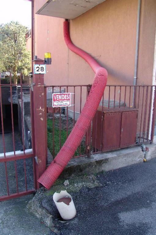 Danni condominio via Cimabue (2)