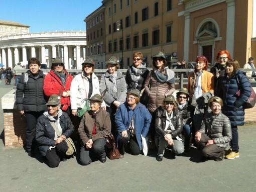 Alpini a Roma dal papa (1)