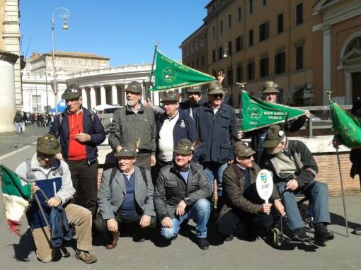 Alpini a Roma dal papa (3)
