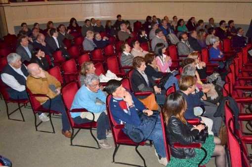 Il pubblico che ha assistito all'incontro con Walter Veltroni