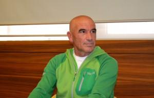 L'alpinista mandellese Mario Panzeri.