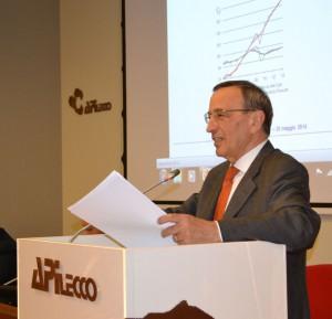 L'economista Giacomo Vaciago.