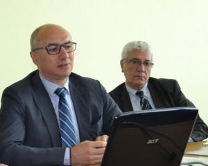 Daniele Riva (a sinistra) e Vittorio Tonini.