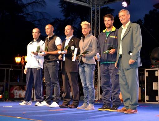 Gli atleti che hanno ricevuto le benemerenze del Coni per i risultati acquisiti.