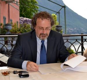 Paolo Ferrara, assessore al Turismo di Varenna.