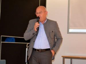 L'architetto Erminio Redaelli.