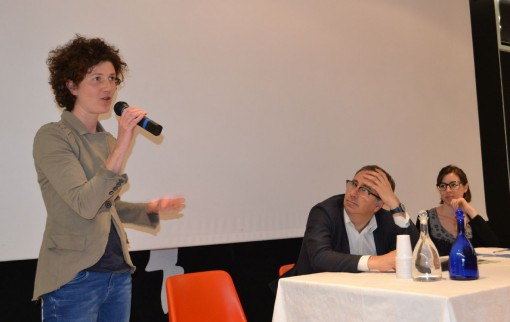 A sinistra Claudia Crippa, di Slow Food Lecco.