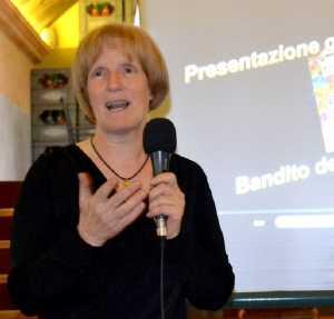 Pinuccia Nasazzi, scrittrice e ricercatrice di Esino Lario.