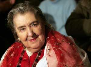 La poetessa e scrittrice Alda Merini.