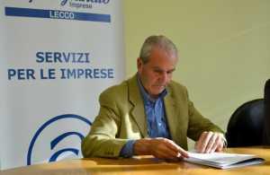 Franco Rotta, vicepresidente vicario della Confartigianato lecchese.