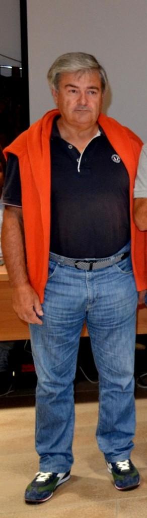 Walter Mariani, coordinatore del gruppo comunale di Protezione civile.