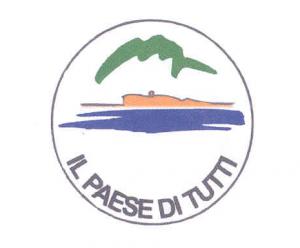 """Il simbolo con cui """"Il paese di tutti"""" si ripresenterà alle prossime elezioni comunali di maggio a Mandello."""