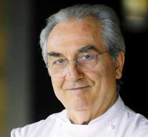 Gualtiero Marchesi, presidente onorario di Euro-Toques International.