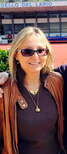 Simonetta Martini, presidente della Lega navale di Mandello.