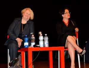Maria Lidia Invernizzi (a sinistra) e Grazia Scurria.