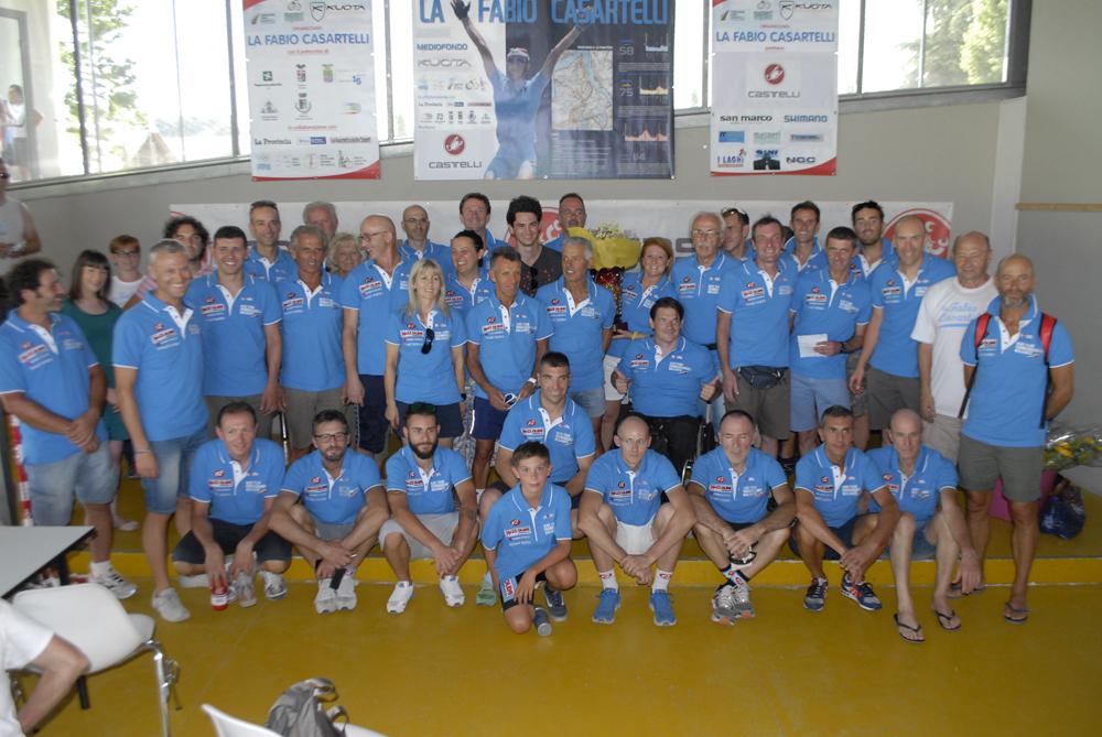 Bike Team Formaggilandia2 premiazione Memorial Casartelli
