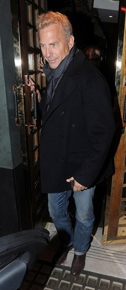 L'attore Kevin Costner.