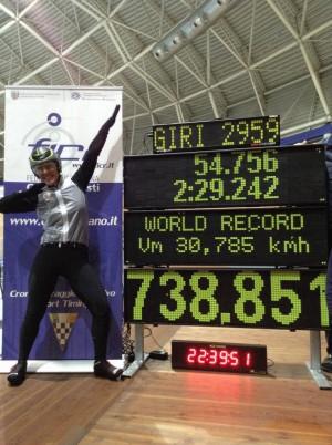 Anna Mei_world record 2013
