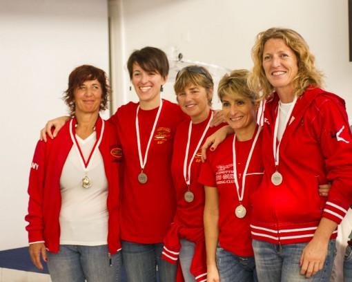 Daniela Arrigoni, Laura Agostini, Sabrina Poletti, Debora Belleri e Monica Robustellini.
