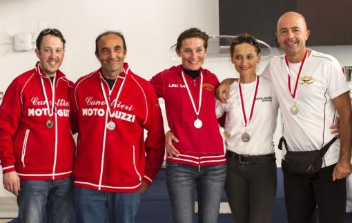 Da sinistra Michele Fattore, Giuseppe Lafranconi, Miriam Bernini, Savina Panizza e Marco Zonno.