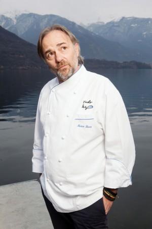 """Marco Sacco, chef del """"Piccolo lago"""" di Verbania, sarà a Mandello mercoledì 28 ottobre."""