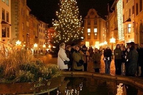 Sciaffusa e le sue atmosfere natalizie saranno una tra le mete della gita di due giorni organizzata dalla Pro loco di Mandello per il 12 e 13 dicembre.