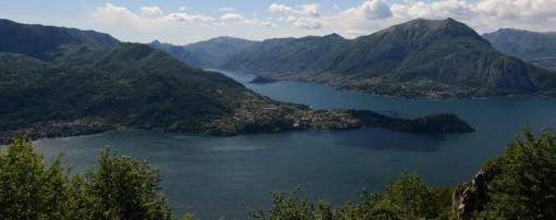Lo splendido panorama di cui si può godere dal belvedere di Prato Spino.