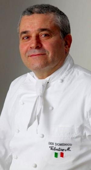 Valentino Marcattilii, chef del Ristorante San Domenico di Imola.