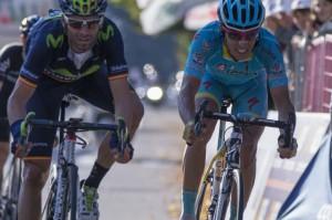 un'immagine dal Giro di Lombardia 2015