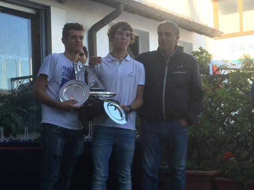 La cerimonia di premiazione di Marco Zanni e totis.