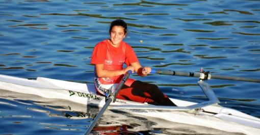 Micaela Elia (Allievi C femminile), terza nella classifica generale di categoria, che vedeva al via 24 atlete.